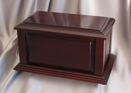 Manchester Satin Cherry   [Ultimate] Rustco Cremation & Burial Chapel