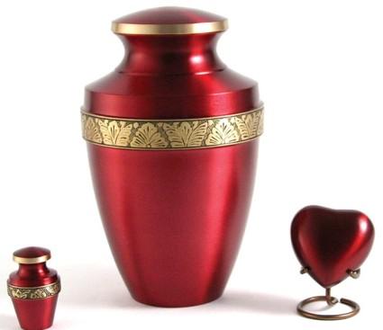 Grecian Crimson   [Ultimate] Rustco Cremation & Burial Chapel